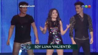 Elenco de Soy Luna — Valiente |  Susana Gimenez