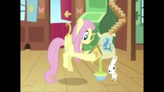 Fluttershy has to say she's fine when she's not really fine.