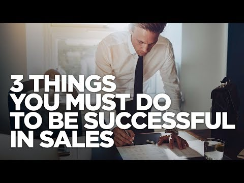 3 Things You Must Do to be Successful in Sales - Grant Cardone photo