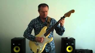 Deep Purple Wring That Neck + Guitar Cover
