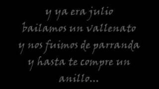 """""""El Calendario"""" (Pasabordo) ...Letra..."""