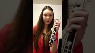 Galina Ilina's Oboe Video