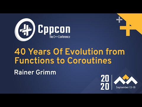 40 Years Of Evolution from Functions to Coroutines
