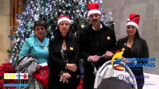 Saludo para los soldados colombianos desde México en Navidad