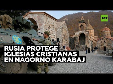 Putin destaca la necesidad de preservar monasterios e iglesias en Nagorno Karabaj