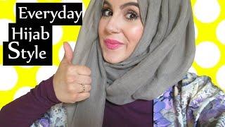 My Everyday Hijab Style! | Aminachebbi width=