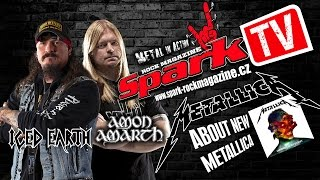 SPARK TV: About new METALLICA - ICED EARTH & AMON AMARTH