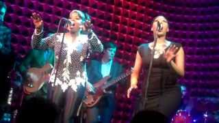 @LadyNicoleWray and @TheRealMzWalker as Lady - Hold On (Live) at @JoesPub 04-04-13 (Full)