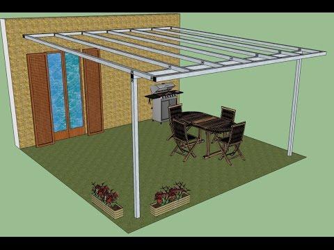 Come costruire un pergolato in ferro tutto per casa for Montaggio tetto in legno ventilato
