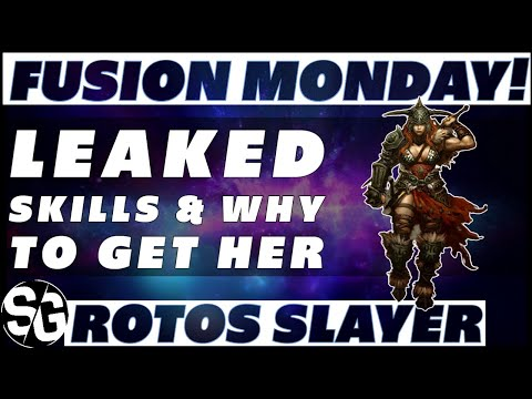 FUSION & SKILLS WHERE TO USE HER - ROTOS SLAYER - RAID SHADOW LEGENDS
