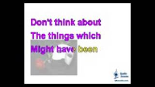 Phantom of the Opera - Think of Me Karaoke Instrumental w Lyrics