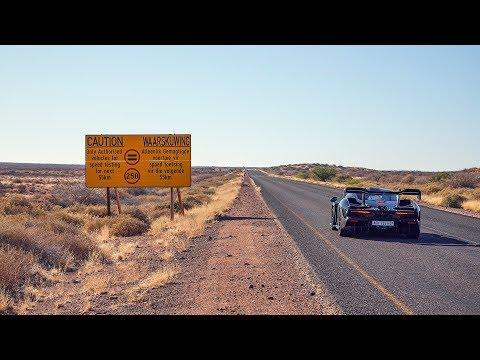 McLaren Senna: tested on the road