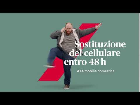 AXA mobilia domestica: Sostituzione del cellulare entro 48h