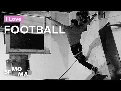 Artists ♥ Football: Matthew Barney | SFMOMA Shorts