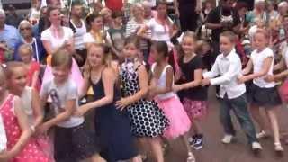 Kids with a Rock 'n Roll Dance Mix @ the Sweetlake Rock 'n Roll Revival in Zoetermeer 2014