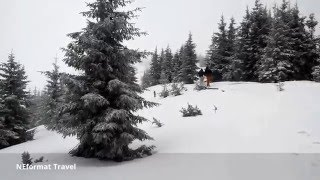 Зимний поход на Говерлу 20.02.2016 День Второй