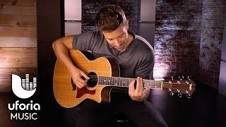 Pablo Alborán le robó su primera guitarra a su hermano