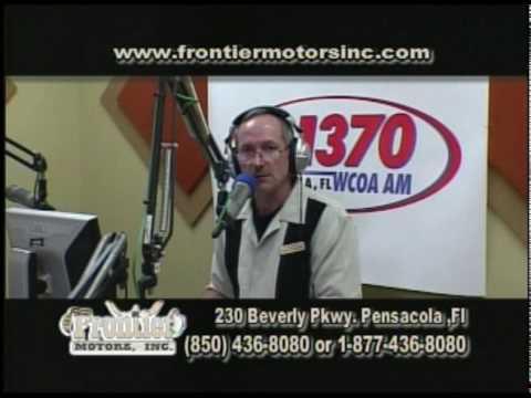 Frontier Motors TV Show April 23rd Pensacola Part Two
