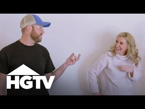 Pocket Door Takedown | Fixer to Fabulous | HGTV