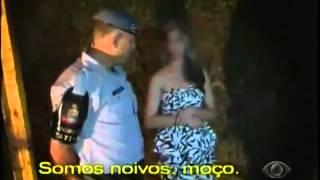 Policia 24 Horas (Band) Flagra Casal Namorando No Carro