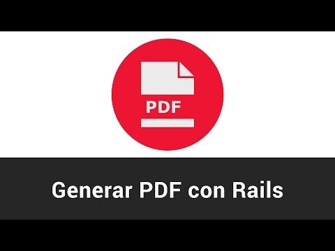Generar PDF con Ruby on Rails - Tutorial