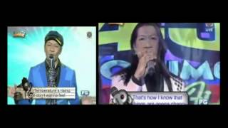 It's Showtime Stars on 45 Winner Ricardo Marcial sings Beyonce - August 30, 2014