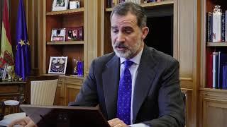 Palabras de S.M. el Rey sobre el temporal de nieve, en la apertura del Spain Investors Day