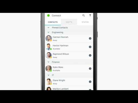 BlackBerry Connect Chats Tutorial (Android)