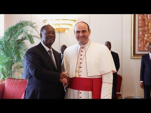 Lettres de créance de trois nouveaux Ambassadeurs accrédités en Côte d'Ivoire