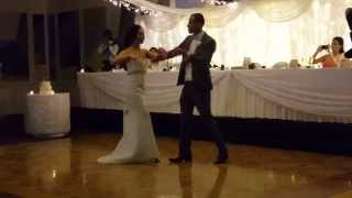Jess and Jason Wedding First Dance   Marc Anthony You Sang to ME