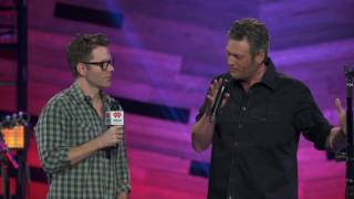 "Blake Shelton ""The word TRUTH"" (Q&A on the Honda Stage at the iHeartRadio Theater)"