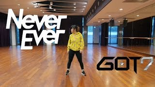 "GOT7 ""Never Ever"" Dance Cover Practice [Charissahoo]"