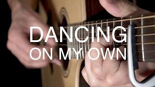 Dancing On My Own - Calum Scott (Fingerstyle Guitar Cover by Albert Gyorfi) [+TABS]