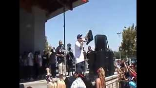 Lil Cuete - Stay Out My Way Live @ Lowrider Nationals Bakersfield, CA 2012