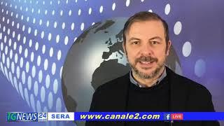TG NEWS SERA LE NOTIZIE DEL 03 MARZO 2021 DIRETTA TV ORE 20:00 CANALE 2 DTT CANALE 297
