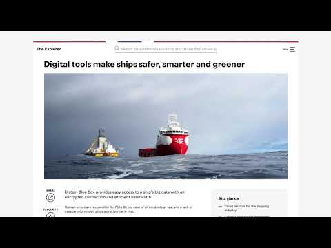 The Explorer – Green technology from Norway
