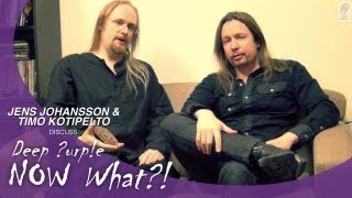 """Jens Johansson & Timo Kotipelto of Stratovarius discuss Deep Purple's new album """"NOW What?!"""""""