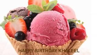 Khaleel   Ice Cream & Helados y Nieves - Happy Birthday