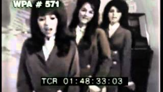 Ronettes - Hulaballoo Silhouettes Clip - Nice