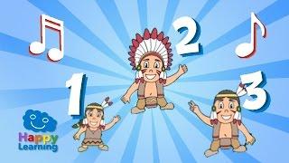 Canción de los Numeros para Niños. Los numeros del 1 al 10 (Canciones Infantiles)  ☁
