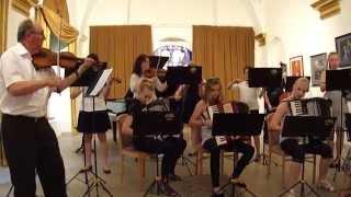 Johannes Brahms Uhorské tance Orchester Základná umelecká škola Exnárova ul. Bratislava