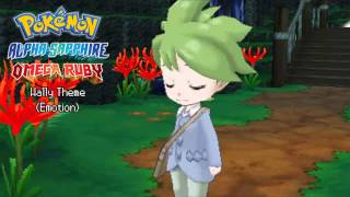 Pokémon Omega Ruby & Alpha Sapphire Soundtrack - Wally Theme (Emotion)
