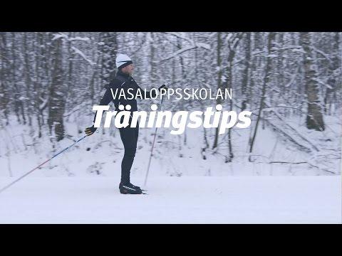 Vasaloppsskolan – Träningstips (Träna på snö del 4 av 4)