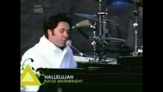 Rufus and Martha Wainwright - Hallelujah  (Glastonbury Live)