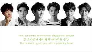 Lyrics EXO-K - HEART ATTACK [Hangul/Romanization/English] COLOR CODED