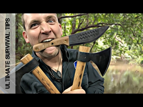 NEW! 7 Epic Bushcraft / Survival Knives YOU Need (to See) in 2017