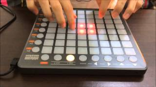 Meg & dia - Monster DotEXE remix ( Launchpad Performance )