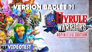 Vidéo-Test : HYRULE WARRIORS Definitive Edition : une version Switch BACLÉE ?! TEST