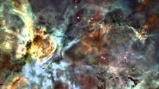Universe Zoom Cosmos Space Stars Galaxies Sky Telescope - Instrumental Music Relax