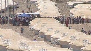 Agrava-se a situação dos refugiados sírios
